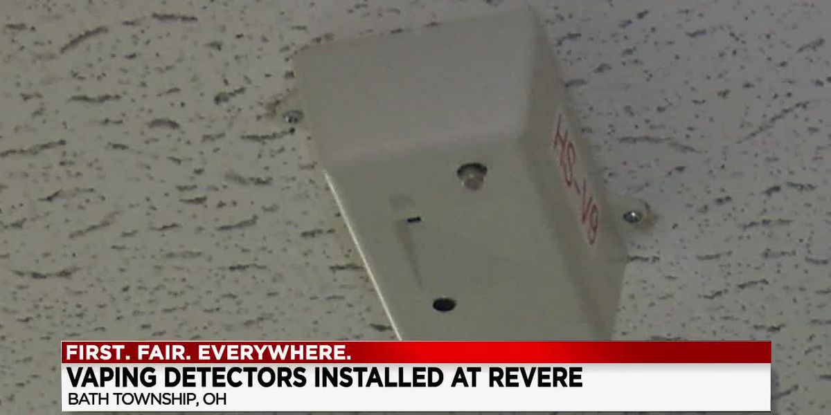 Students at Revere Local School District could be suspended if caught vaping by new detectors