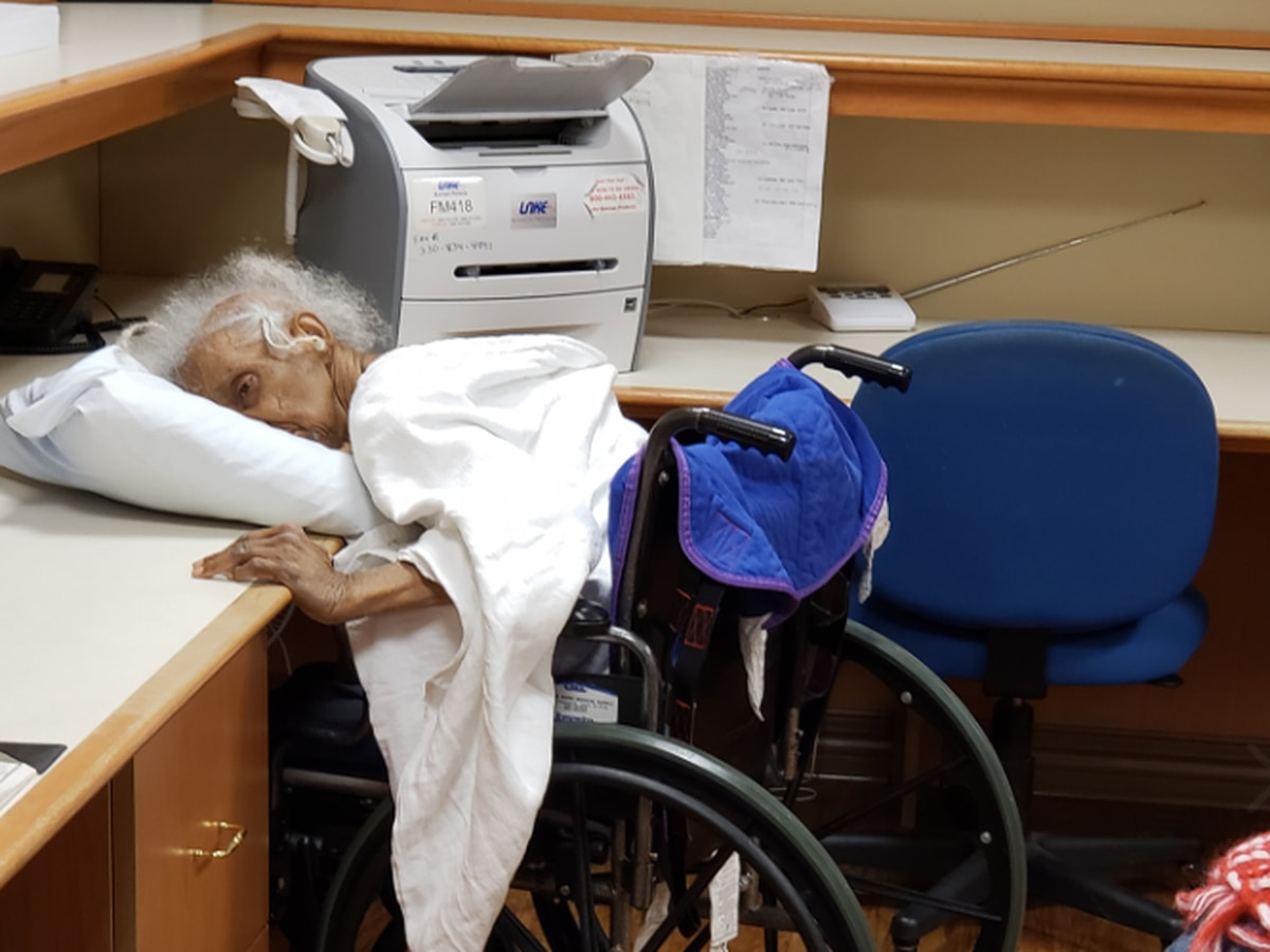 Jarring photo of elderly woman slumped over pillow in Ohio nursing home sparks investigation