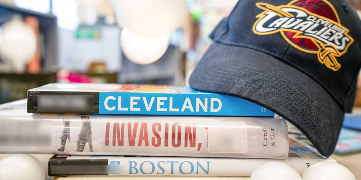 Cleveland, Boston Public Libraries turn book titles into NBA Finals smack talk