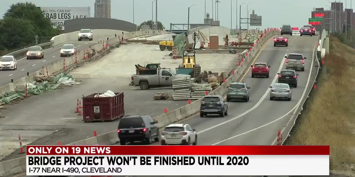 ODOT's I-77 bridge project over I-490 will be delayed into 2020