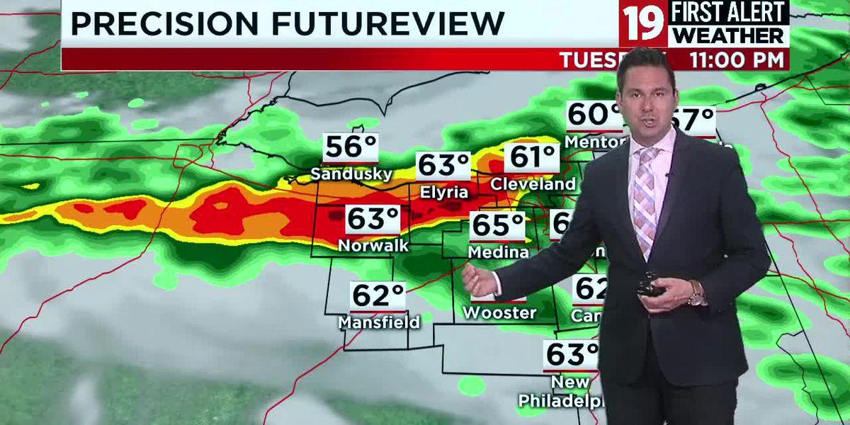 19 First Alert Weather Day: Damaging wind, rain and hail pummel Northeast Ohio