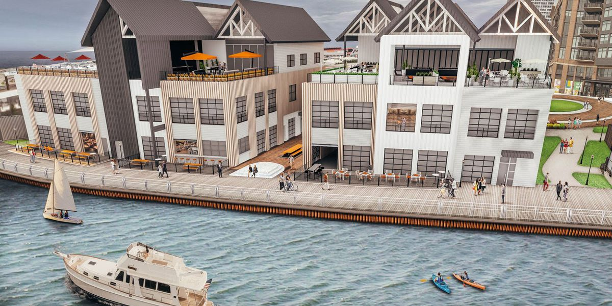 Riverfront restaurants, bars could be headed to east bank of the Flats (photos)