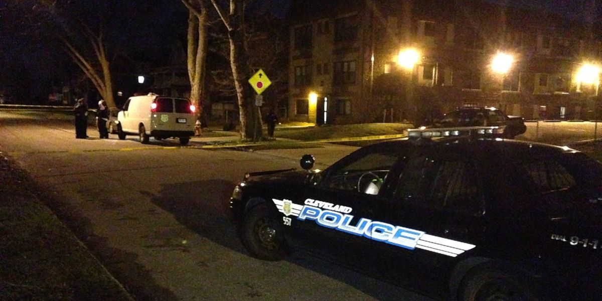 One person killed in double shooting on Cleveland's east side