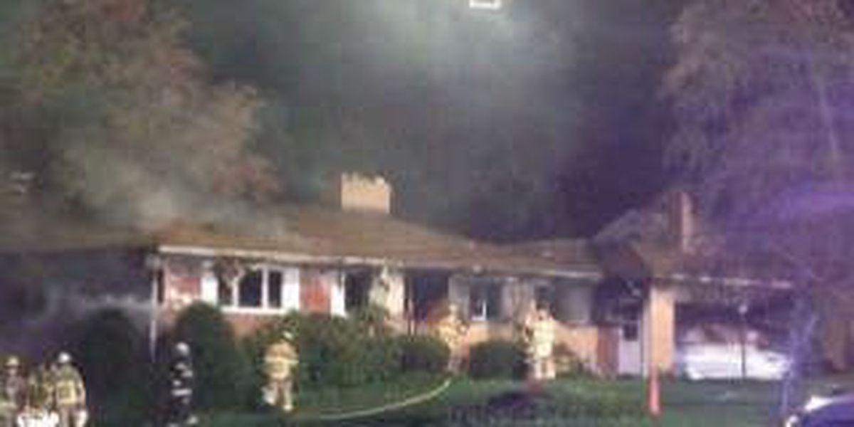 One person injured in Brecksville fire, home destroyed