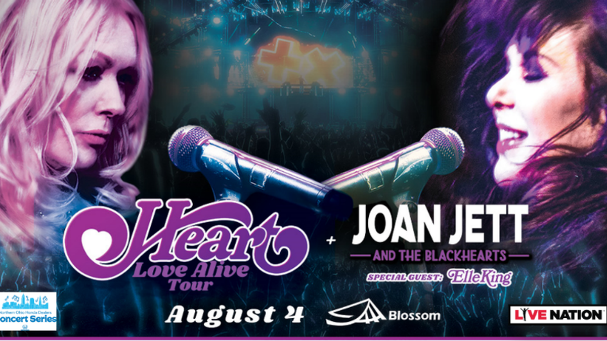 Heart: Love Alive Tour - Ticket Giveaway