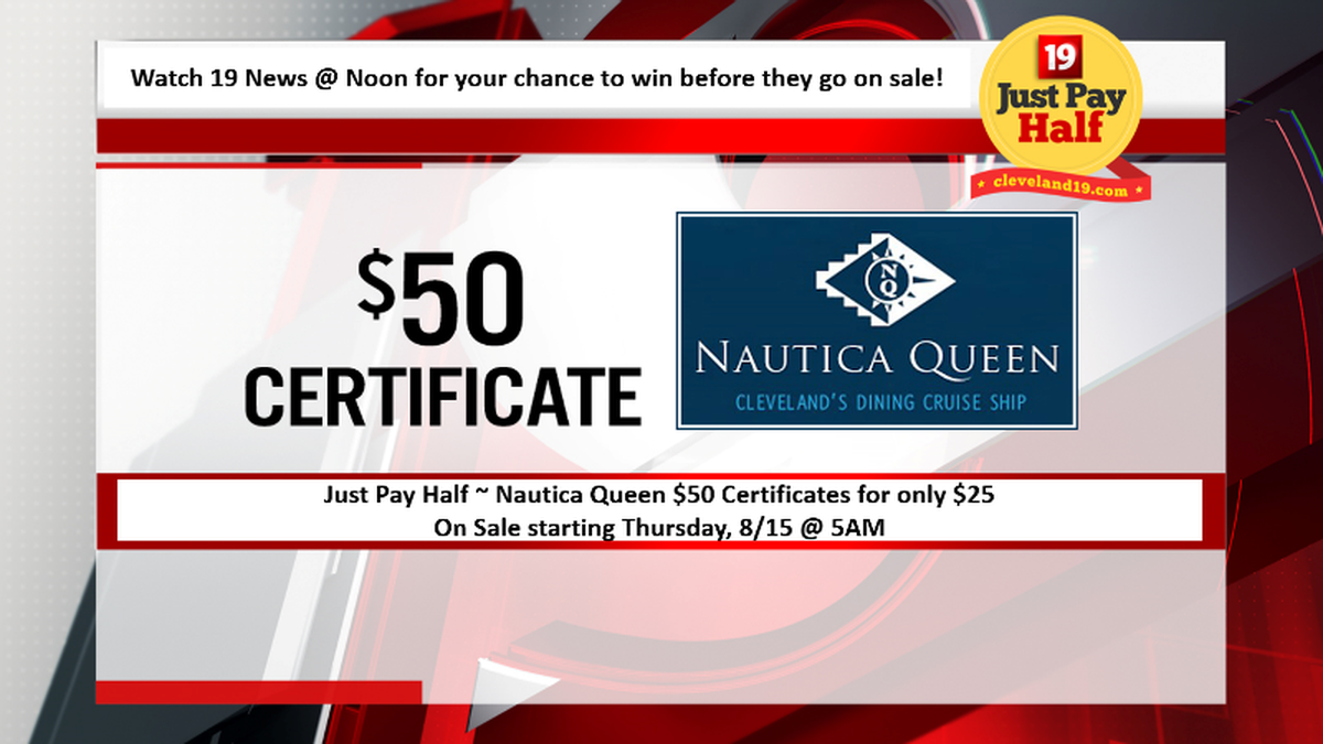 Noon News Giveaway, Mon 8/12 - Wed 8/14 ~ Win a Nautica Queen Gift Certificate