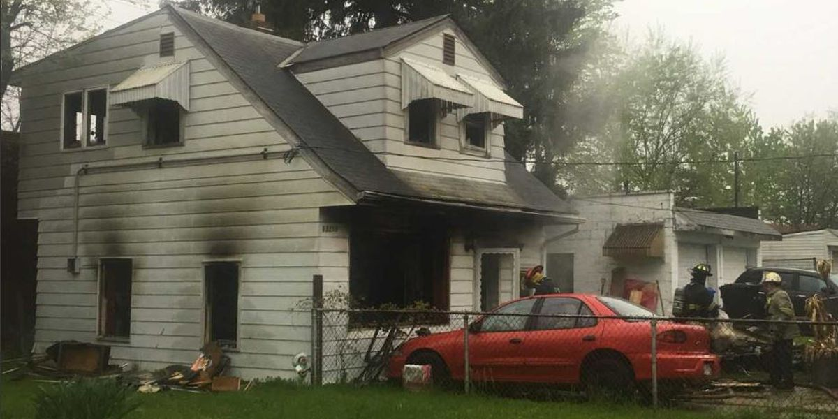 No injuries reported after fire on Cleveland's west side, occupants saved by fire alarm