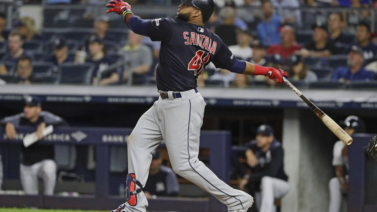 Ramirez, Santana hit 2 of Indians' 7 HRs in 19-5 rout vs NYY
