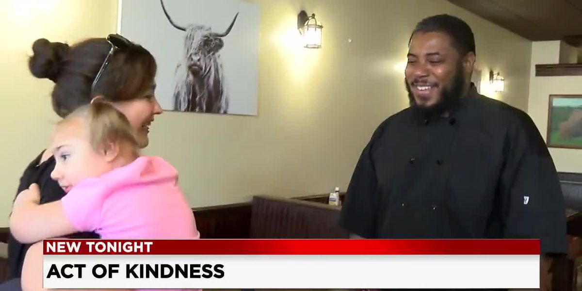 Stark County chef's act of kindness goes viral on social media