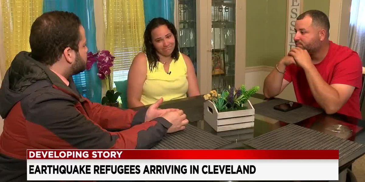 Puerto Rico earthquake survivors start arriving to Northeast Ohio