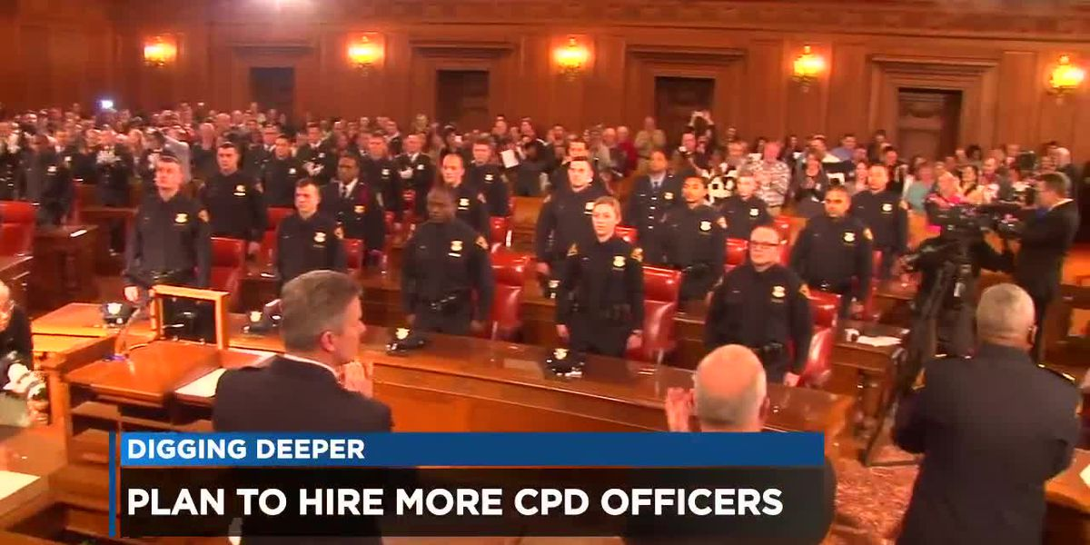 Is Mayor Frank Jackson keeping his promise to hire additional police officers?