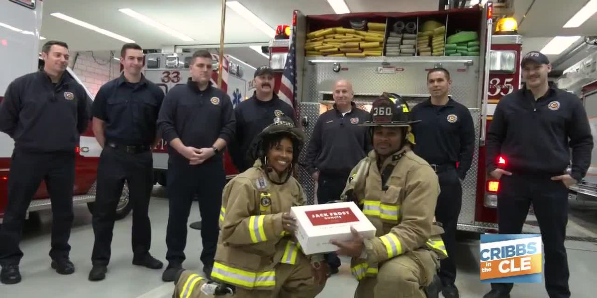 Community Heroes: Delivering a special treat to the firefighters of Fairview Park
