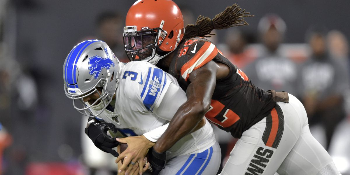 Cleveland Browns looking forward to regular season, outlast Detroit Lions in final preseason game