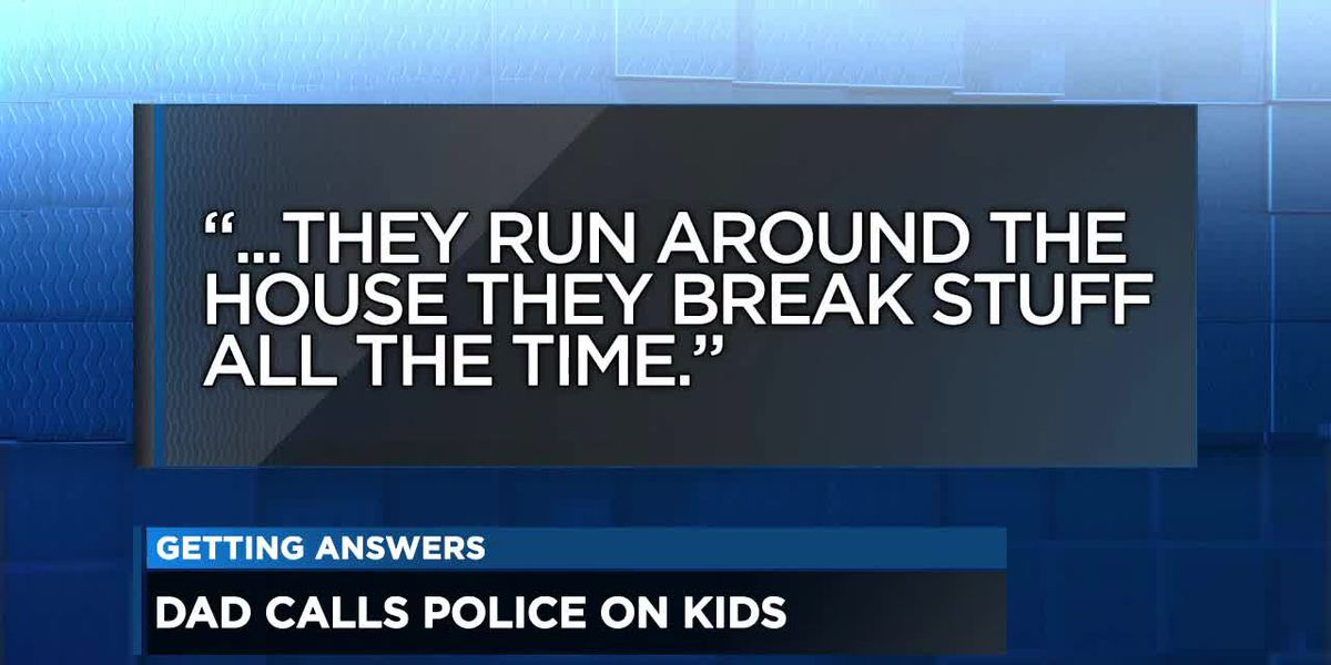 Ohio father calls police on his misbehaving kids