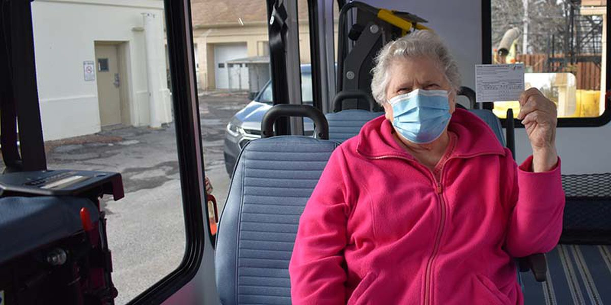 Laketran provides free transportation for Lake County residents to get to COVID-19 vaccine appointment