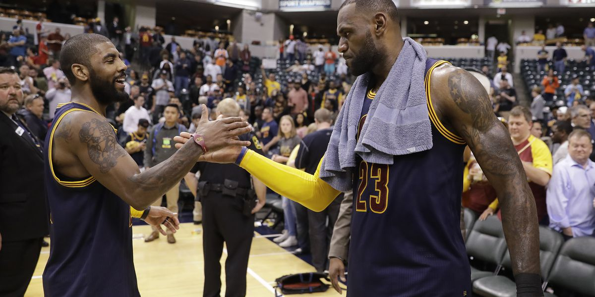 Kyrie Irving said he called LeBron James to apologize for the past, ask for advice on leading a team