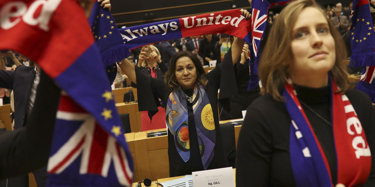 Brexit deal cleared by EU Parliament; UK set to leave Friday