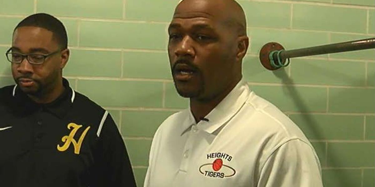 Cleveland Heights basketball Head Coach Jeremy Holmes mic'd up during a recent game