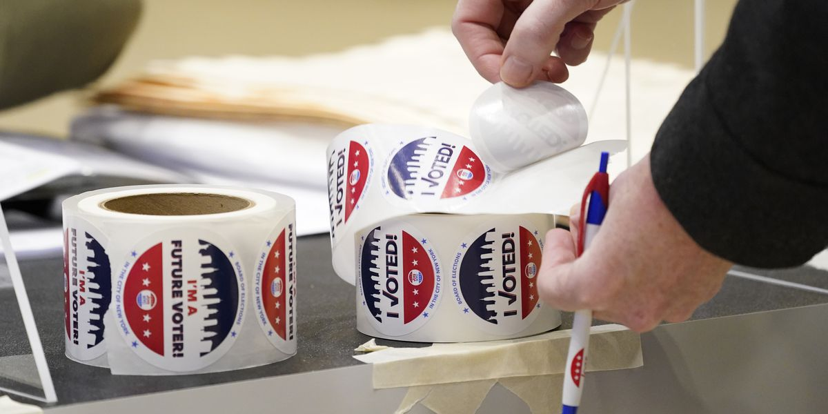 Poll workers at Mentor Senior Center made sure they made voters feel safe during pandemic