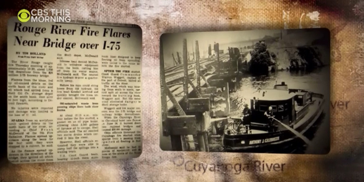 River reborn: CBS This Morning airing segment about 50th anniversary of Cuyahoga River fire