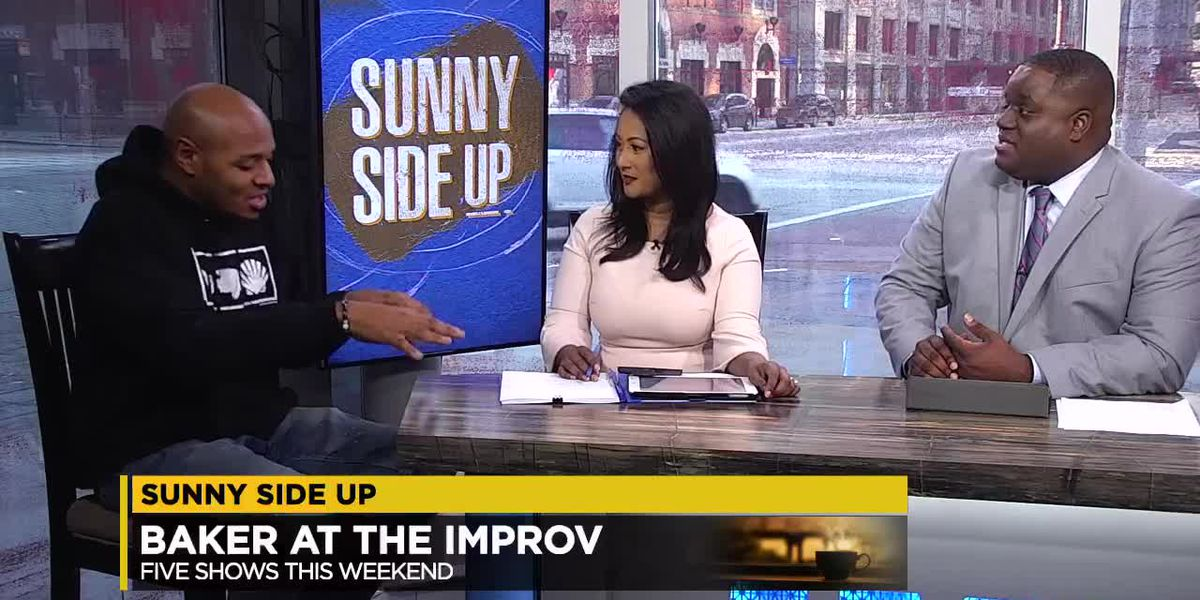 Sunny Side Up: Comedian Tony Baker joins the show