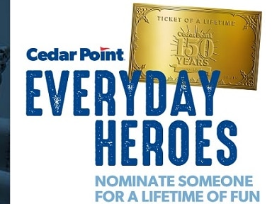 Cedar Point honoring everyday heroes of coronavirus crisis with 'Ticket of a Lifetime'
