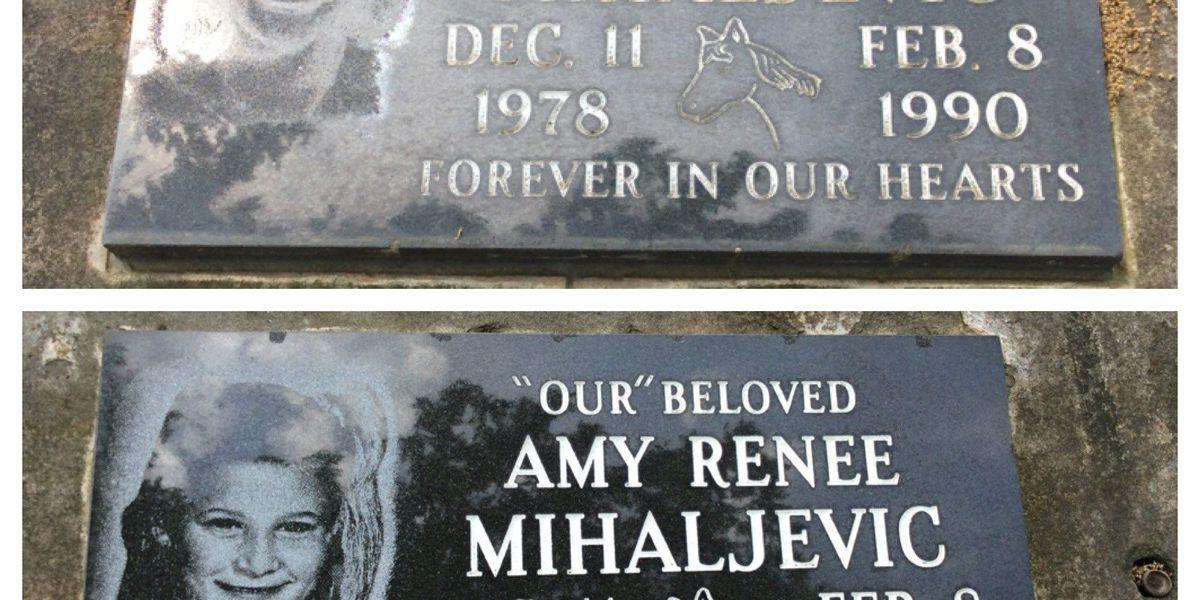 Amy Mihaljevic's memorial marker restored in Bay Village