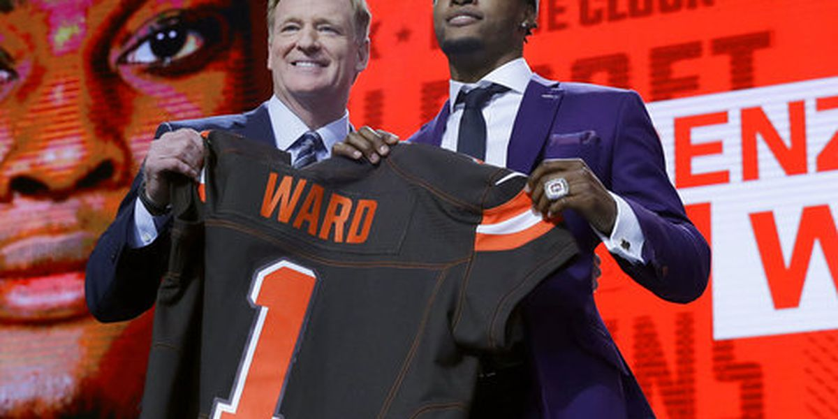 There's a Mentor connection to the NFL Draft jerseys that get printed seconds before a player walks on stage