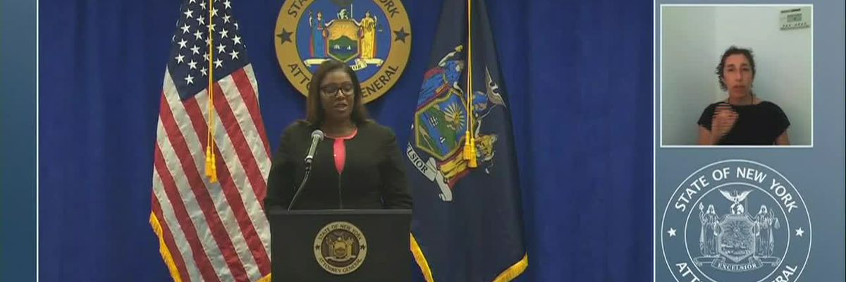 New York attorney general announces NRA lawsuit