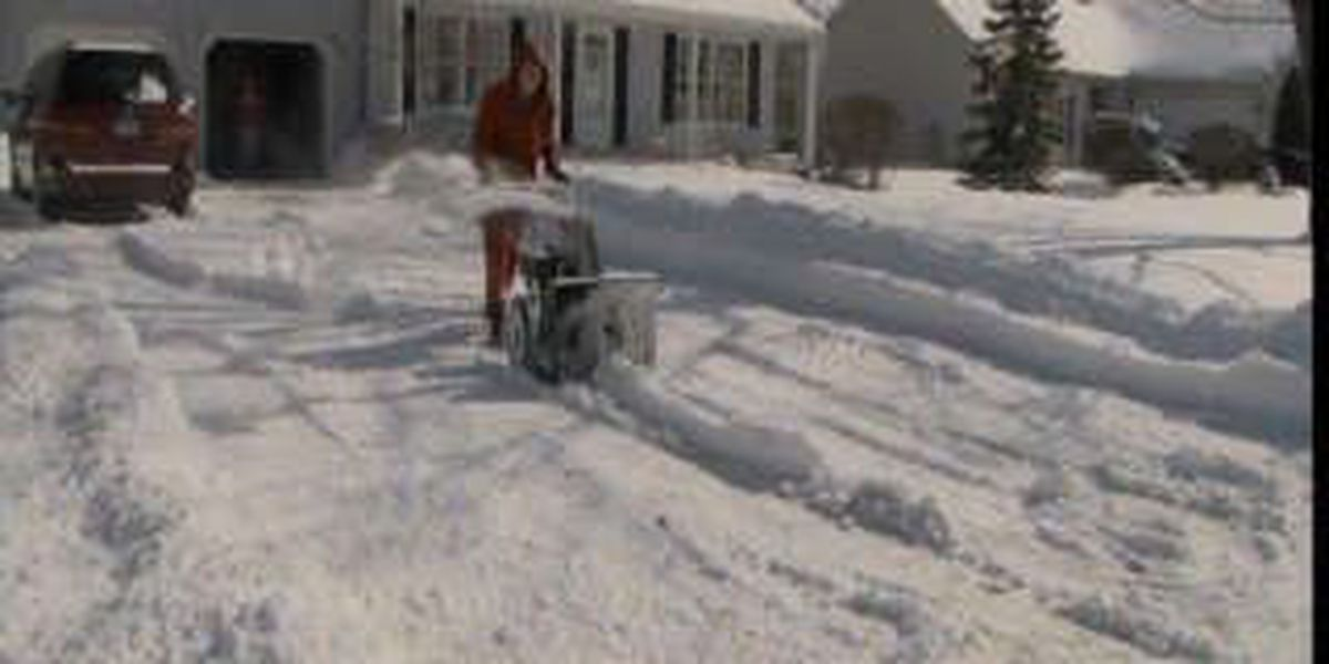 Melting snow can mean big problems for homeowners