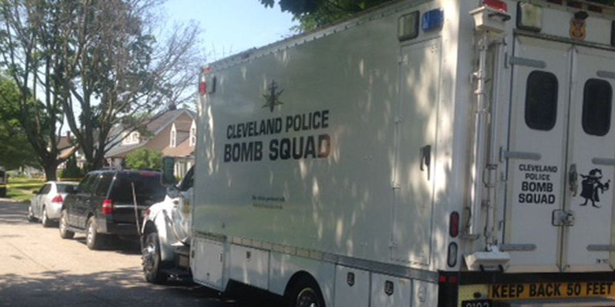 Four men in custody after Cleveland SWAT officers were shot at while serving a warrant