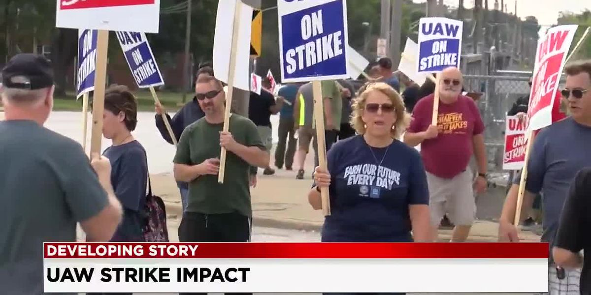 Nationwide GM strike enters its second day, Parma businesses feel the hurt