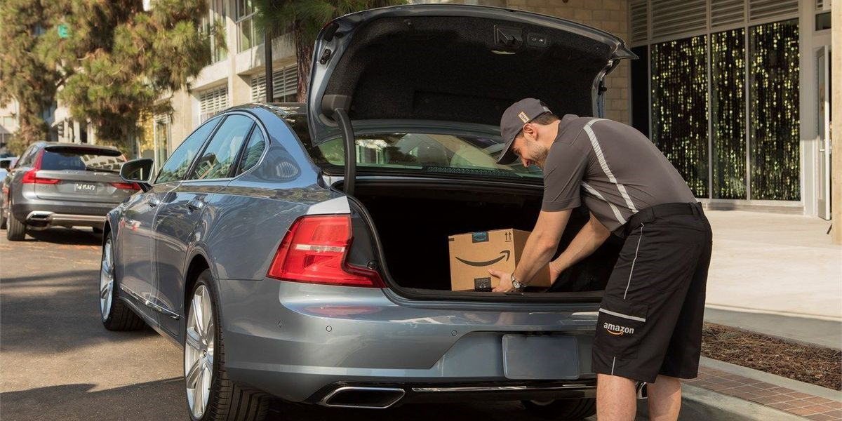 Amazon launches new in-car delivery service