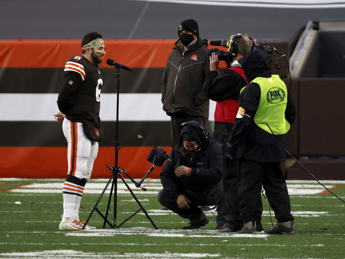 Baker Mayfield has been subtly dropping rap lyrics into his Cleveland Browns press conferences (video)
