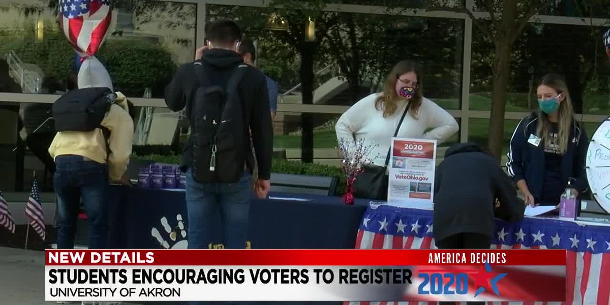 University of Akron students determined to make their mark in election
