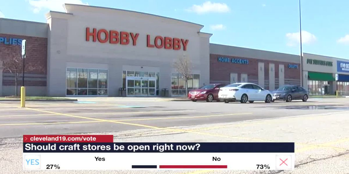 Should craft stores be considered essential in Ohio?