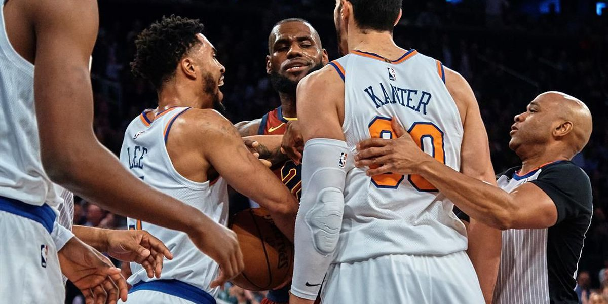 LeBron responds to Enes Kanter calling him 'King, Queen, Princess'