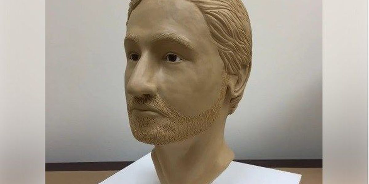 Facial reconstruction made to help ID remains found in 1989
