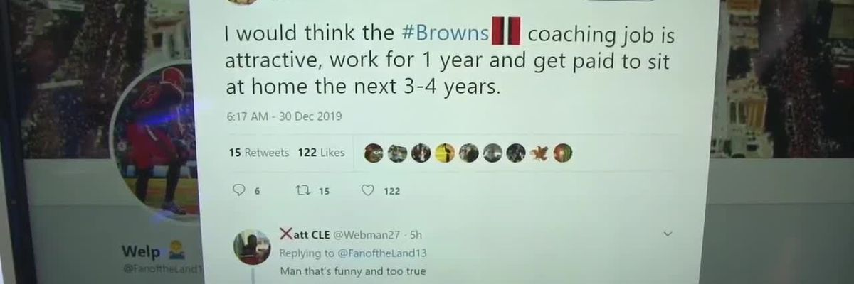 Best social media reaction to Cleveland Browns coaching situation