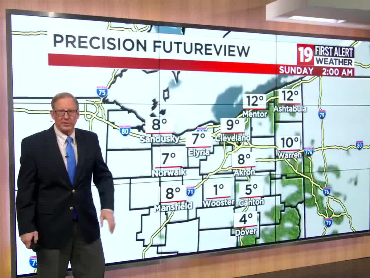 Northeast Ohio weather: Disruptive weather arrives for Monday