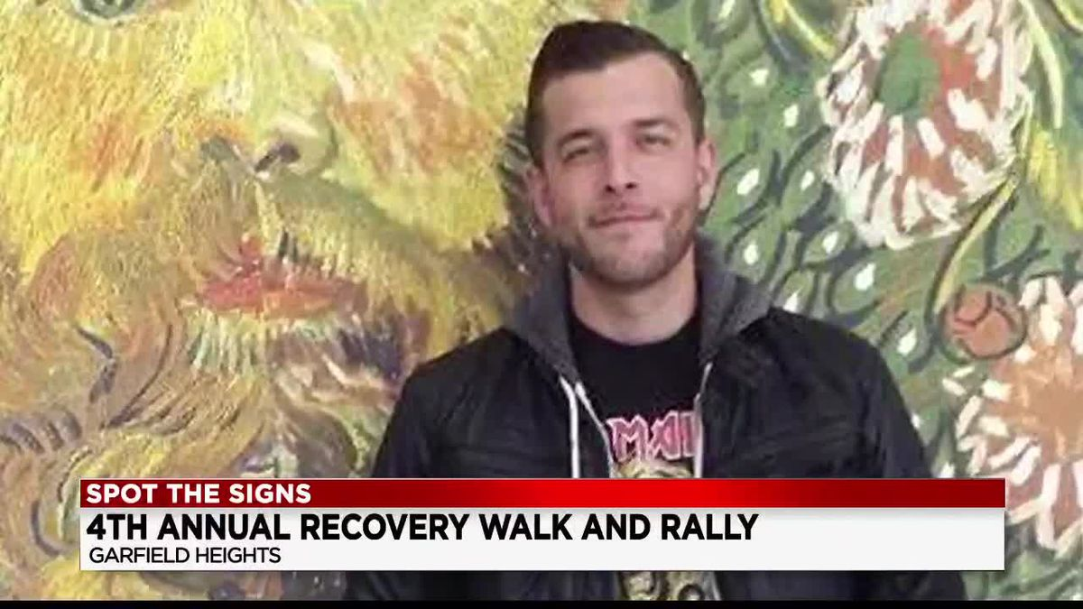 Mother who blames son's death on addiction to drugs inspires others at 4th annual Recovery Walk and Rally