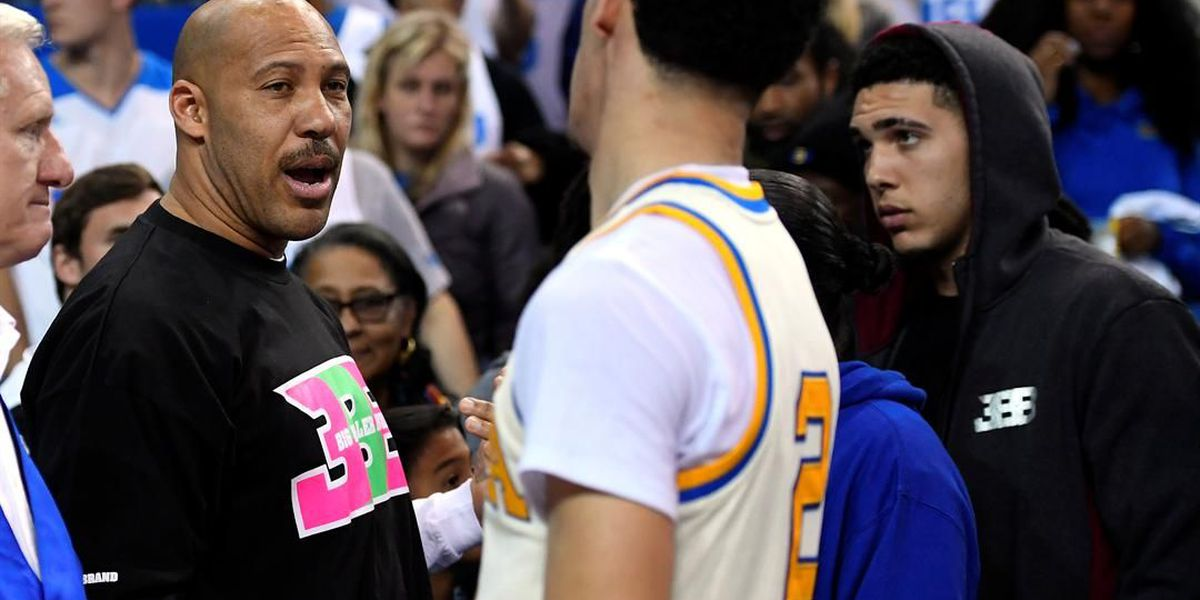 Did Lavar Ball steal an OSU coach's logo for the Big Baller Brand sneaker?