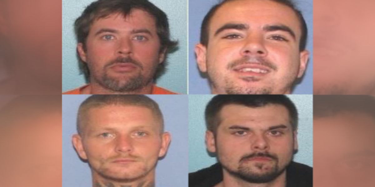 Sheriff: 4 inmates escape county jail in Ohio