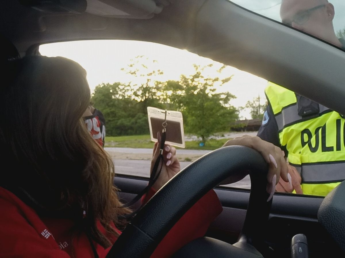 19 News shows what it's like getting through checkpoints