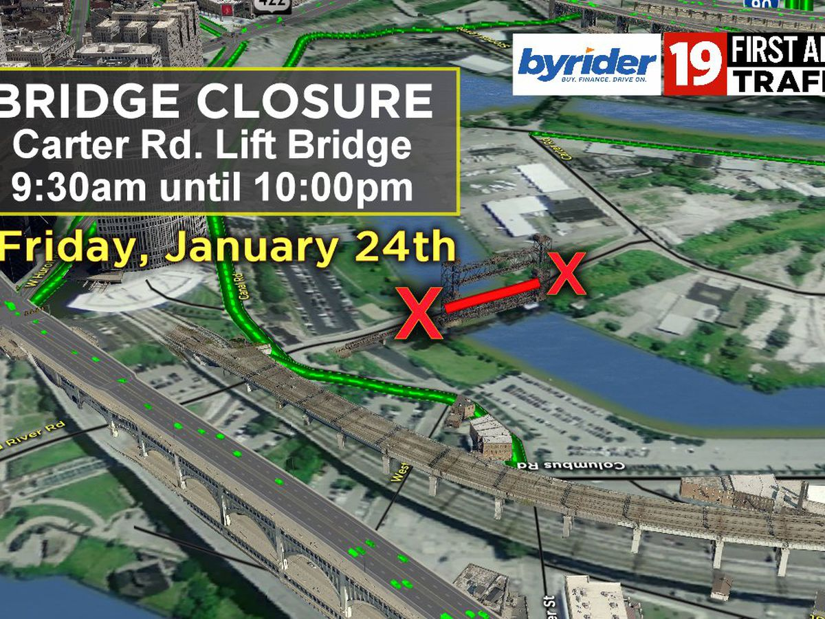 Carter Road Lift Bridge to close for repairs; here's the detour