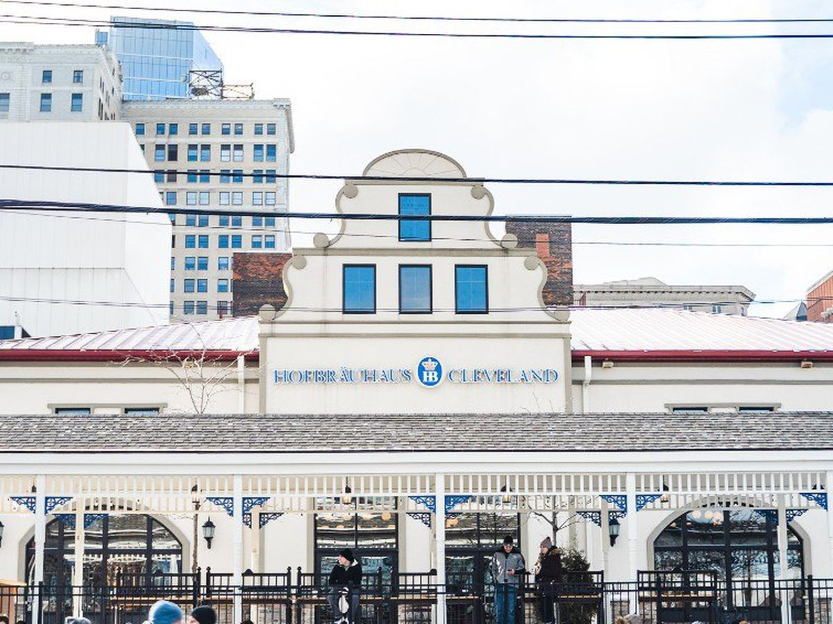 Hofbrauhaus Cleveland is making sure outdoor seating is comfortable for guests during chilly temperatures