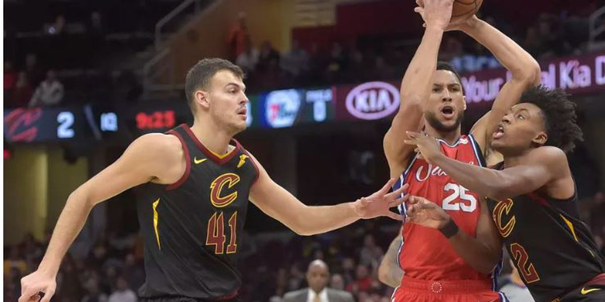 76ers too much for Cavaliers