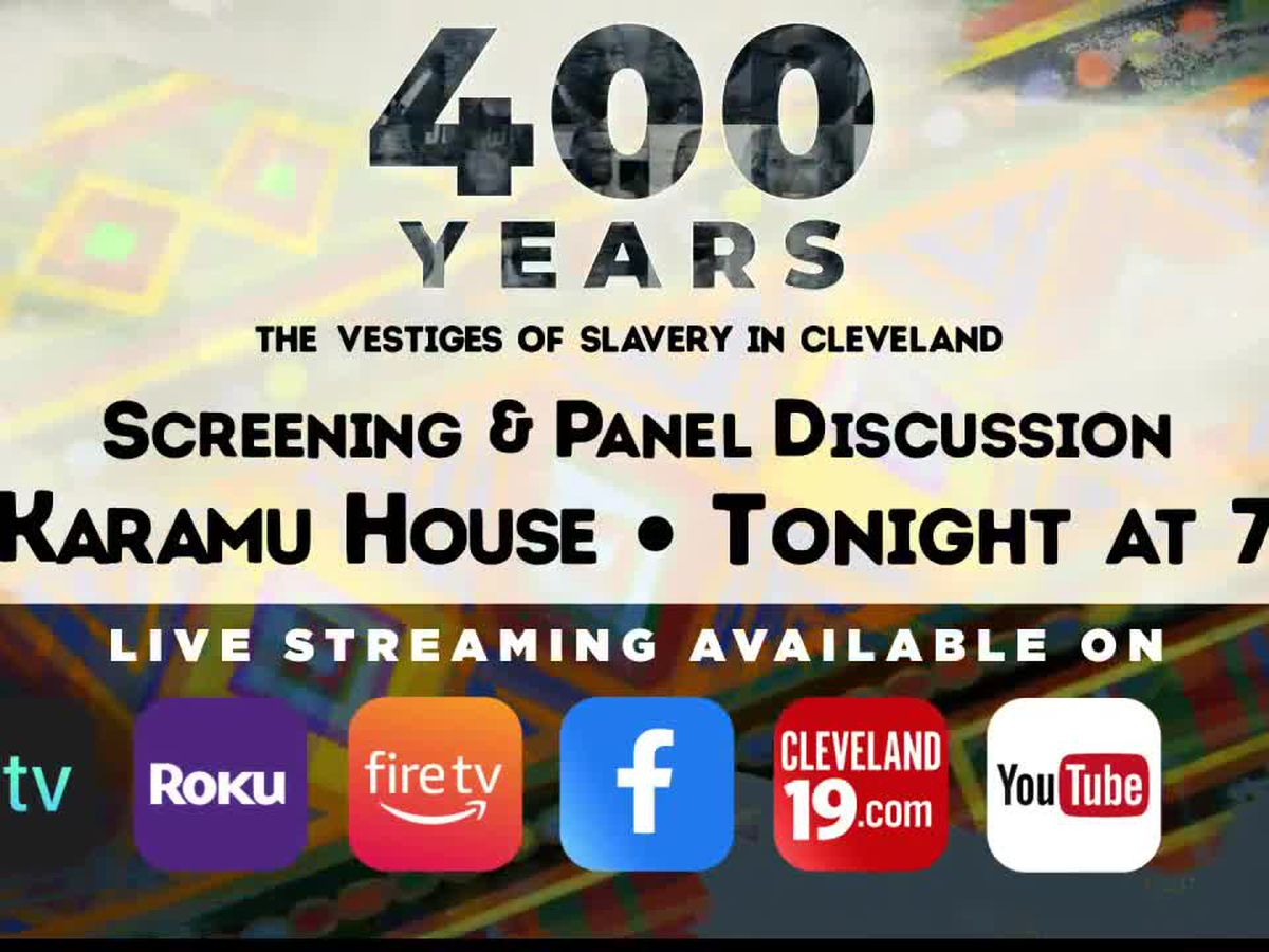 Meet the team behind '400 Years: The Vestiges of Slavery in Cleveland' during Town Hall Tuesday