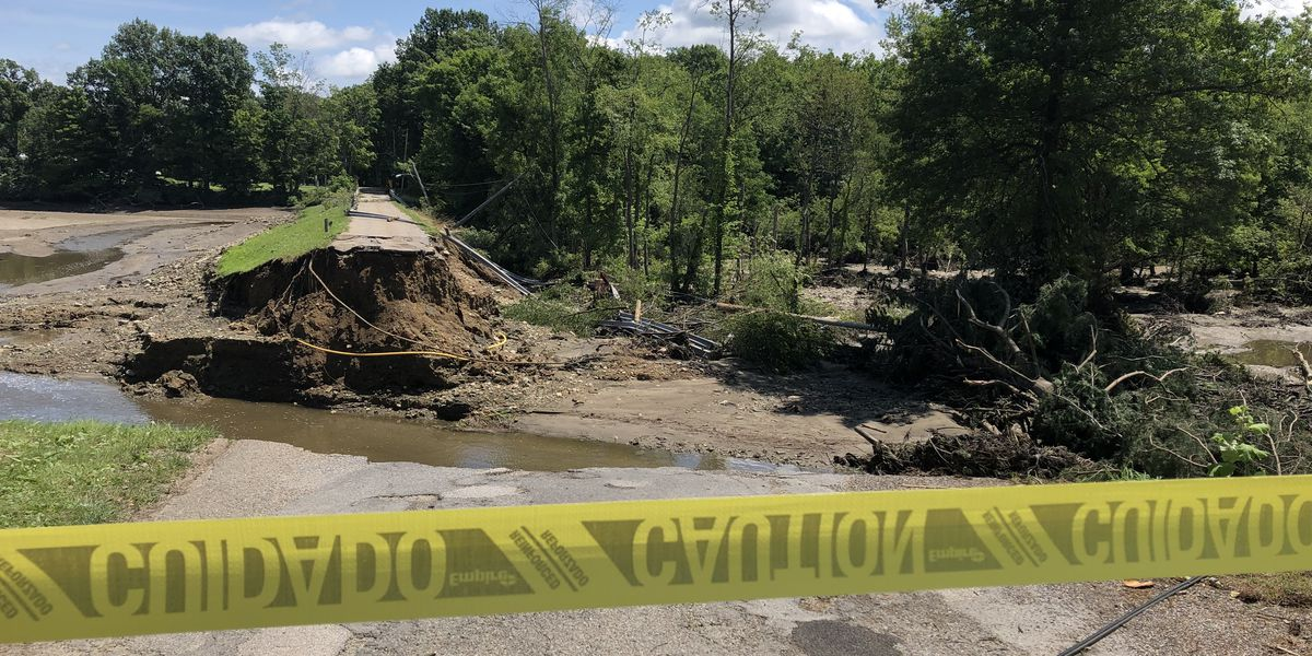 Entire neighborhood evacuated indefinitely after Saturday's flash flooding in Northeast Ohio