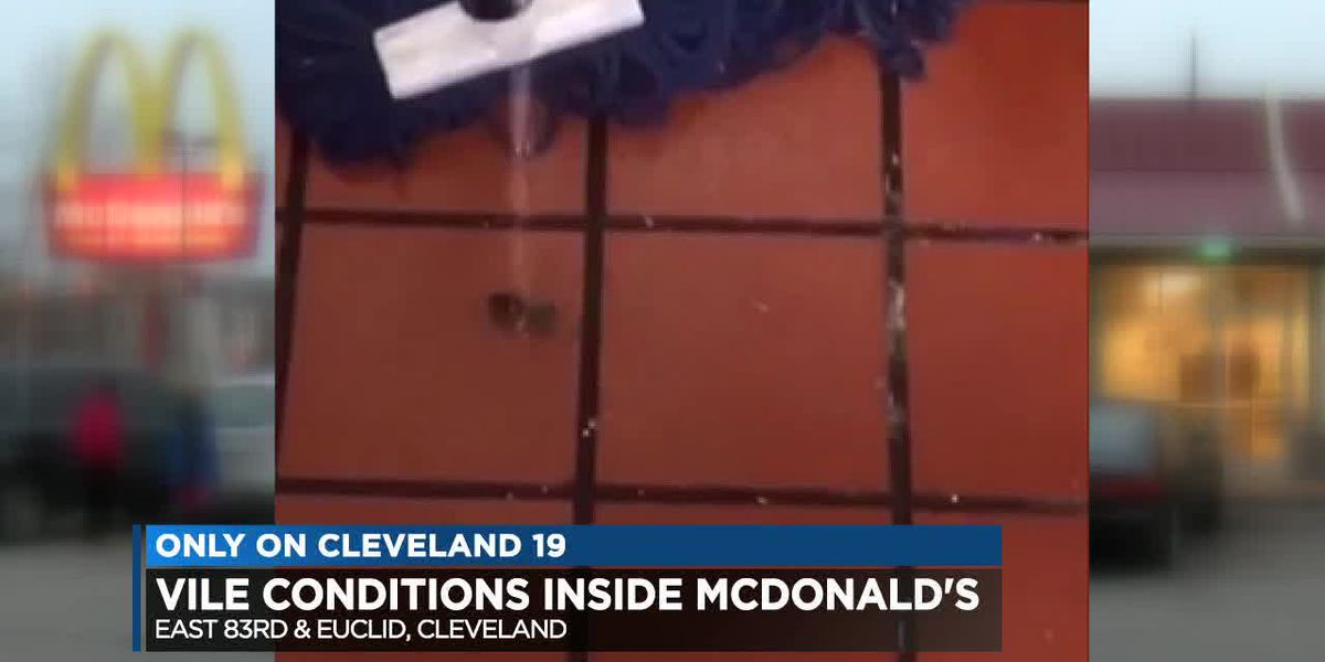 1 Cleveland McDonald's plagued with health violations